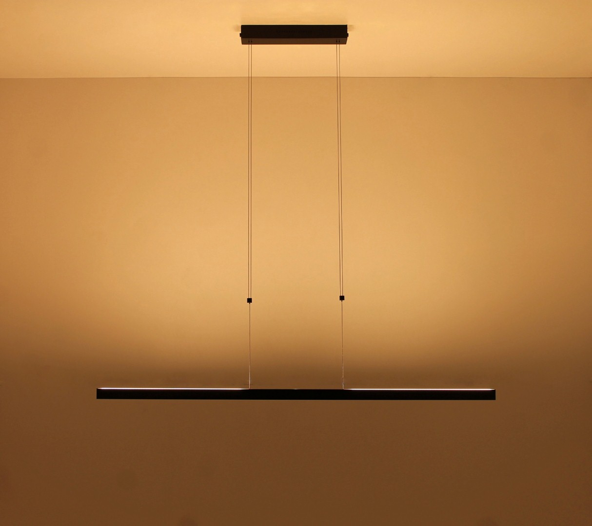 lampen hanglamp led design zwart 128cm hanglamp. Black Bedroom Furniture Sets. Home Design Ideas