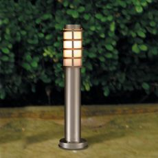 Buitenlamp RVS paal