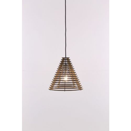 Hanglamp hout 32cm