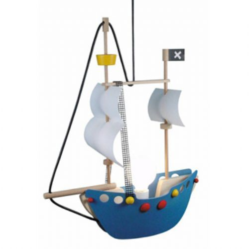 Kinder hanglamp piratenschip