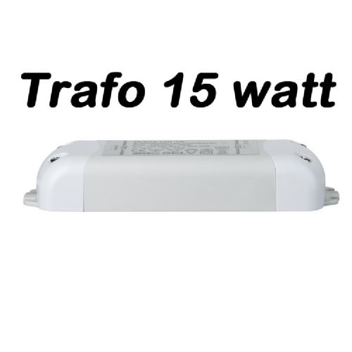 Led strip trafo 15watt