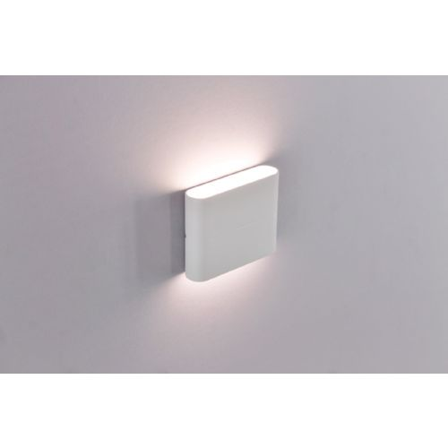 Buiten wandlamp wit up / down LED
