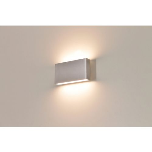 Buiten wandlamp LED alu up / down