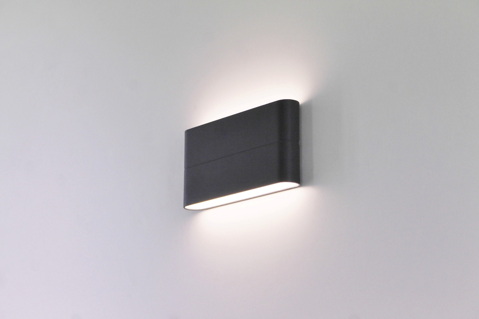 Buiten wandlamp antraciet up / down LED
