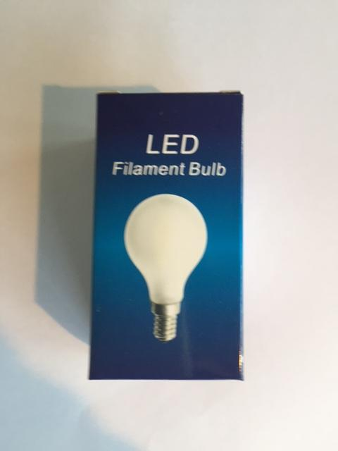 LED 2Watt 2200K E14 Mat