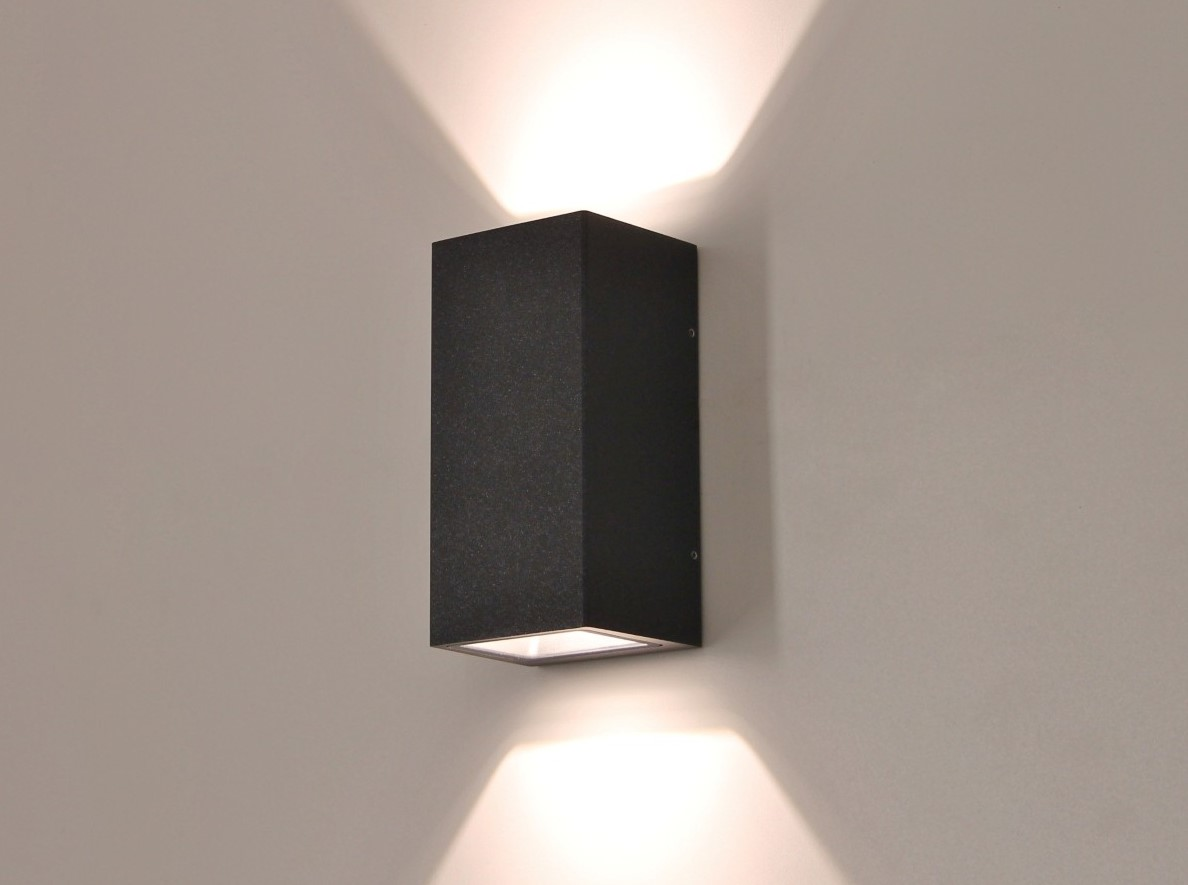 Buiten wandlamp LED antraciet up / down